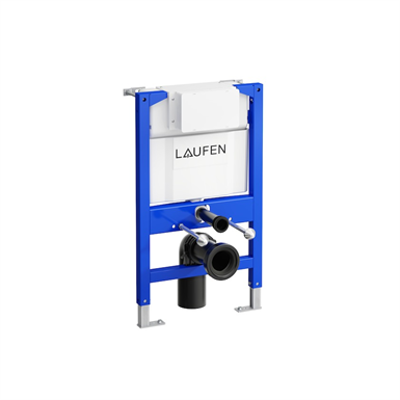 LAUFEN INSTALLATION SYSTEM CWL1 82 cm with cistern for wall-hung WC, dual flush 6/3L (adjustable to 4.5/3L) için görüntü