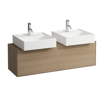 Image for BOUTIQUE Vanity unit 1200 x 380 mm, with cut out left and right, with siphon