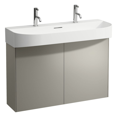 Image for SONAR 975mm Vanity unit, 2 doors, matching washbasin 810347