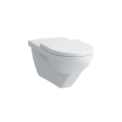 Image for MODERNA R Wall-hung WC 'liberty', washdown, without flushing rim, barrier-free