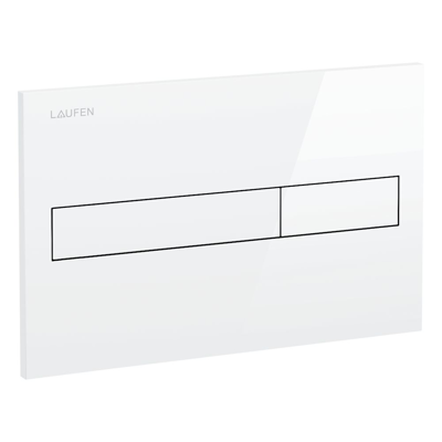 Image for LAUFEN INSTALLATION SYSTEM Flush plate AW1, dual flush