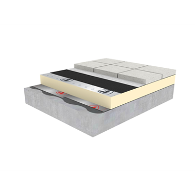 Image for RubberGard EPDM Roof Ballasted System (terrace)