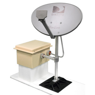 imagem para Satellite Dish Support (SDS)   Roof Penetration Housings, LLC
