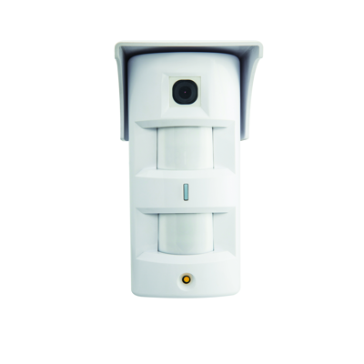 Image for Outdoor passive double infrared detector with Pet Immunity and camera