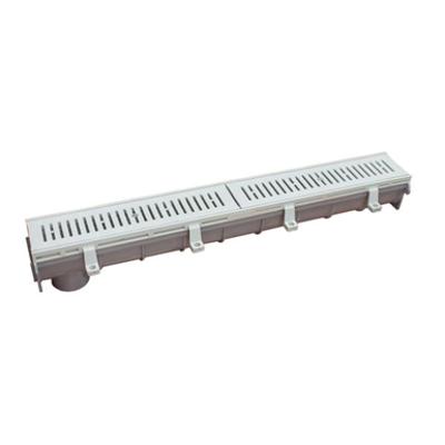 画像 Dead Level® P - Pre-Sloped Polypropylene Trench Drain System with Polypropylene Frame
