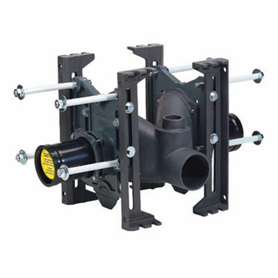 Image for Industry Standard Back-to-Back Horizontal Adjustable Closet Carrier - ISCA-101-D