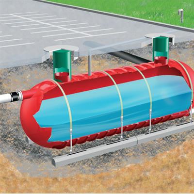 画像 Underground FRP Tanks - RWT-FRP