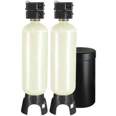 Image for Meter Demand Duplex Alternating Water Softeners for Hardness Reduction - PWS30-2