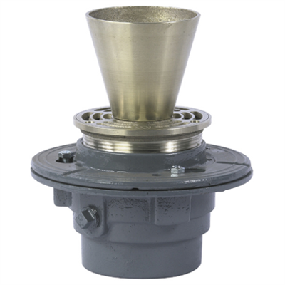 画像 Floor Drain with Round Funnel - FD-100-EF