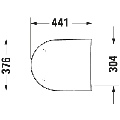 Image for 002161 D-Neo Toilet seat