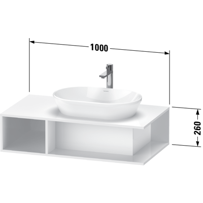 Image for DE4959 D-Neo Vanity unit wall-mounted