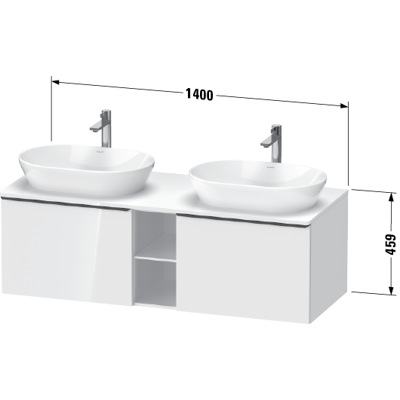Image for DE4950 D-Neo Vanity unit wall-mounted