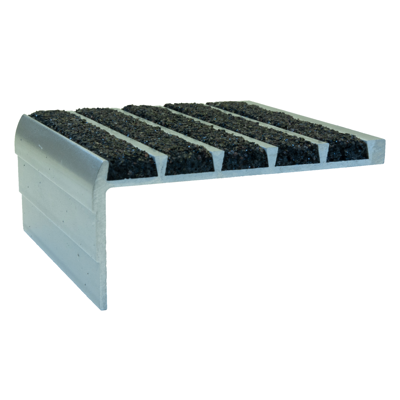 Image for Type 132 Supergrit® Nosings, Profiles for Steel Pan Concrete-Filled Stairs