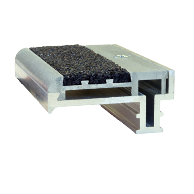 Image for Type WP-RN2SG Supergrit® 2-Stage Stair Nosing for Steel Pan or Poured Concrete Steps