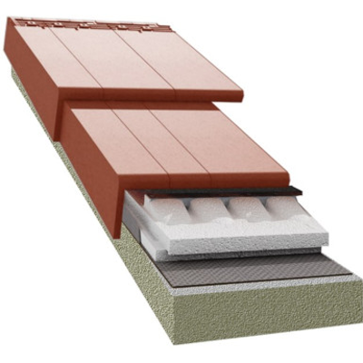 Image for TECTUM PRO system insulation T320 100mm for Logica Plana rooftile