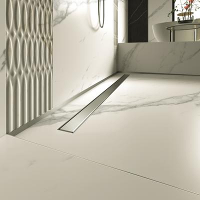 Image for Linear shower drain PP Drain Aqua