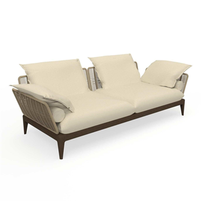 Image for Cruise Teak 3 Seater Sofa