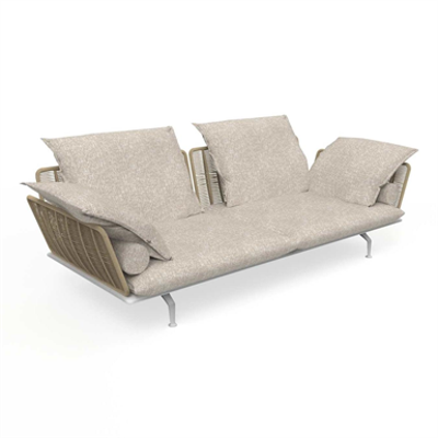 Image for Cruise Alu 3 Seater Sofa