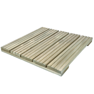 Image for Wooden decking tile 500x500x40 mm