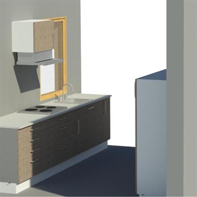 изображение для Pro Parallel kitchen showcase