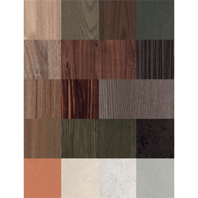 Image for RESOPAL COORDINATED SURFACES stones & materials - Melamine Faced Board (MFB/MFC)
