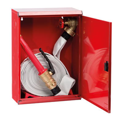 """Image for 2/HP FIRE HYDRANT WITH LAY-FLAT HOSE """"Electa"""" METAL DOOR"""