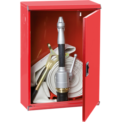 """Image for 2/MP FIRE HOSE SYSTEM FOR FIRE SERVICE USE DN 70 - """"Electa"""" METAL DOOR CABINET"""