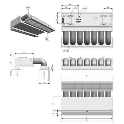 Image for SR Air Curtain - Ambient - Recessed