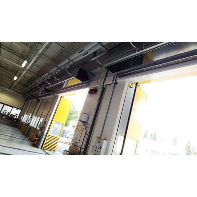 Image for Electric Heated Industrial Air Curtain - IndAC2