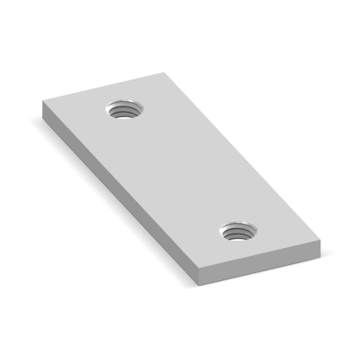 Image for NICZUK Threaded plate PG