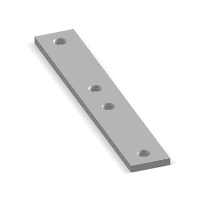 Image for NICZUK Threaded plate PGL