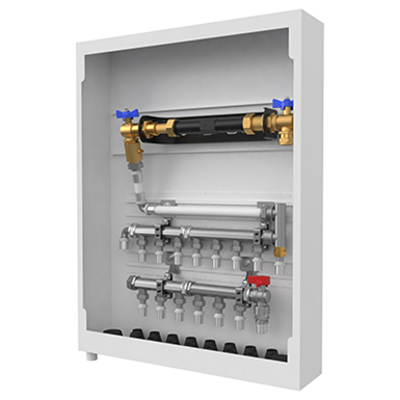 Image for Water meter Cabinet UNI 8/6 L