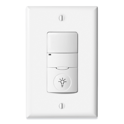 Image for Greengate™ VNLW-P-1001-MV-N - NeoSwitch - PIR Wall Switch Sensor w/Night Light (Neutral Required)