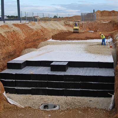 imagen para Underground Infiltration Basin