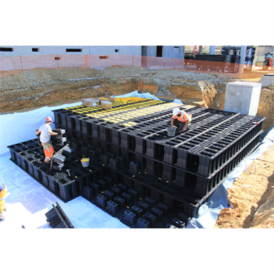 Image for Retention and infiltration basin Azbox