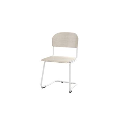 Image for Matte 45 cm big seat white frame
