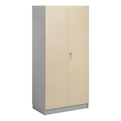 Image for Norden material cabinet 2 solid door B100xD60xH210 grey
