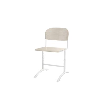 Image for Matte adjustable big seat white frame