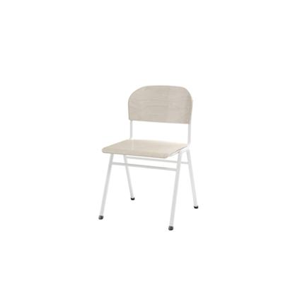 Image for Matte 44 cm big seat white frame