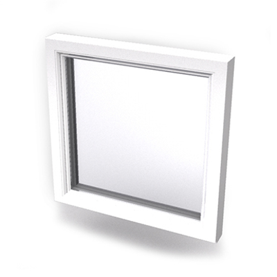 Image for Intakt inward opening window 2+1 glass 1-light Sidehung