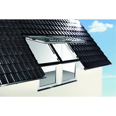 Image for Roto facade connection window Designo R1 PVC
