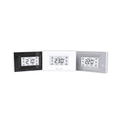 Image for MINI - DISCOVERY 2X TOUCH SCREEN BACKLIT, WALL MOUNTED, BATTERIES POWERED CHRONO-THERMOSTATS WITH RADIO FREQUENCY