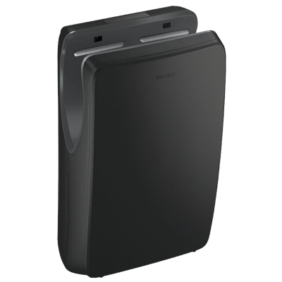 Image for 510624B SPEEDJET 2 matte black air pulse hand dryer, with HEPA filter