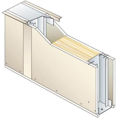 Image for Drywall PREGYMETAL 72mm - EI30 - 33dB - SINIAT