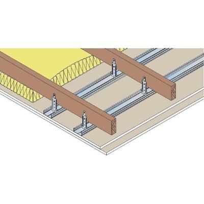 Image for Plasterboard Ceiling - SINIAT Prégymétal FLAM BA15 mm - REI60