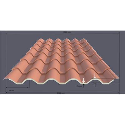 Image pour ACH Roof tile panel