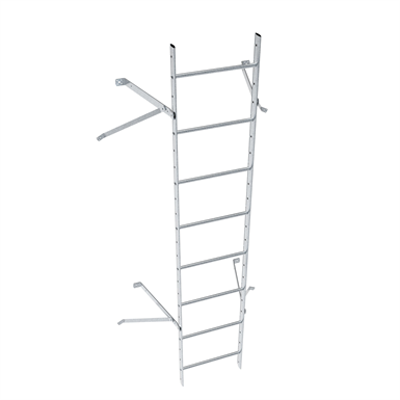 Image for Wall ladder system with 450 offset