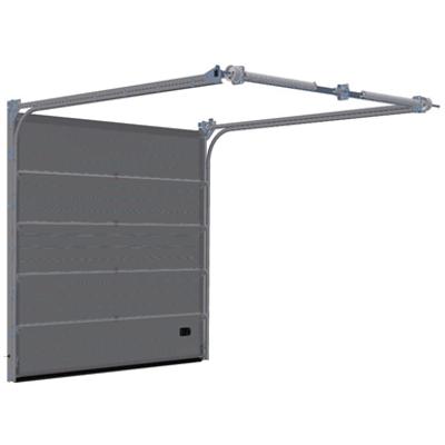 Image pour Sectional overhead door - low headroom