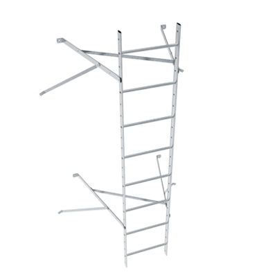 Image for Wall ladder system with 850 offset