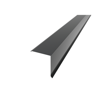 Image for HSK - Gable barge board flashing for metal roofs